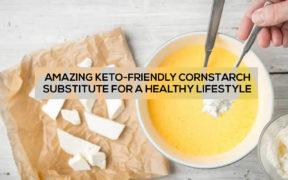 cornstarch substitute keto