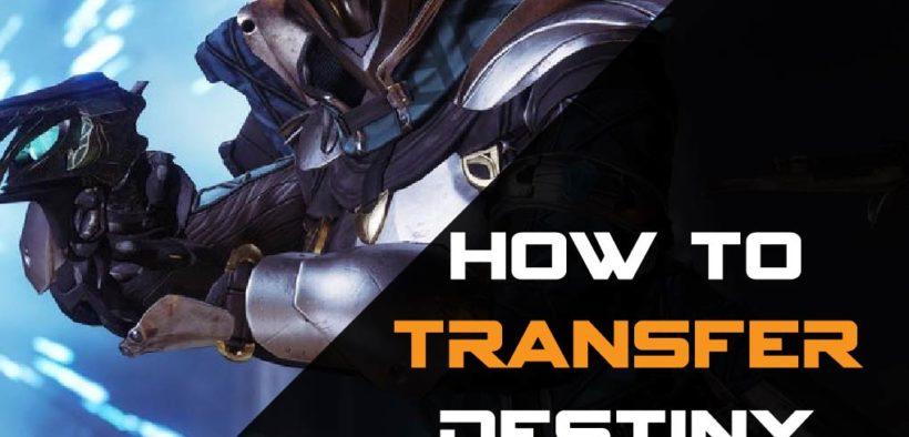 Destiny 2 How To Transfer To Steam