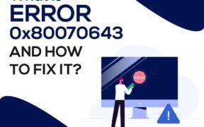 Error 0X80070643
