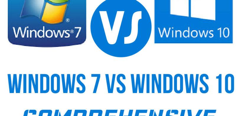 Windows 10 Vs 7