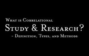 Correlational Study Definition